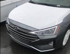 Lộ diện hình ảnh đầu tiên của Hyundai Elantra 2019