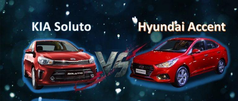 Chọn người dẫn đầu Hyundai Accent hay tân binh Kia Soluto