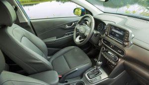 Đánh giá nội thất Hyundai Kona 2019
