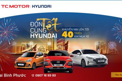 Hyundai Kona, Elantra, Grand i10 lần lượt được khuyến mãi 40 triệu đồng