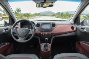 Đánh giá nội thất Hyundai Grand i10 2019 hatchback