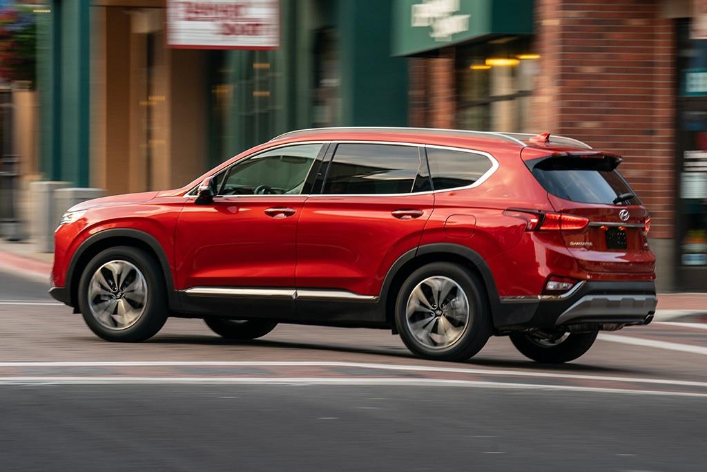 Sự khác biệt giữa bản thường và đặc biệt của Hyundai Santa Fe 2020 (Phần 2)