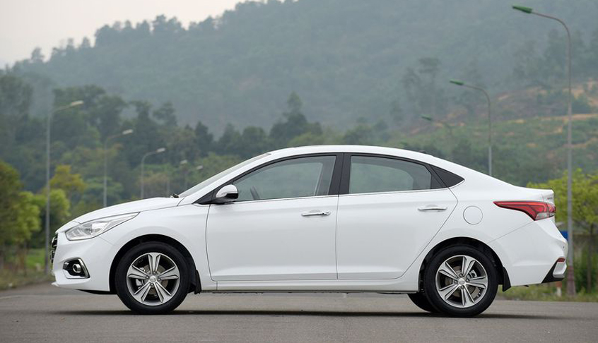 Đánh giá nhanh ngoại hình của Hyundai Accent 2020