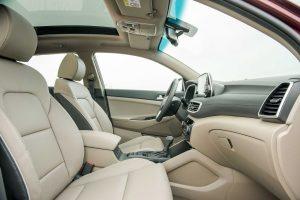 Đánh giá nhanh nội thất Hyundai Tucson 2020