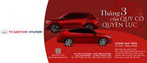 Khuyến Mãi Xe Hyundai Bình Phước Tháng 03 Của Quý Cô Quyền Lực