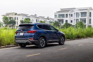 Đánh giá chi tiết thiết kế thân và đuôi xe Hyundai Santa Fe 2020