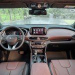 Đánh giá nội thất Hyundai SantaFe 2020