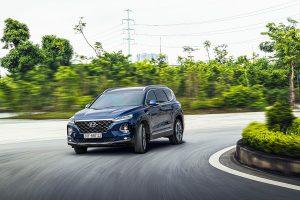 Đánh giá khả năng vận hành Hyundai Santa Fe 2020
